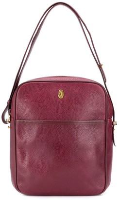 Cartier Pre-Owned Logo Plaque Shoulder Bag