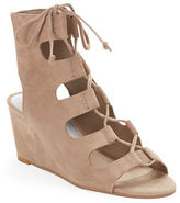 Dolce Vita Suede Lace-Up Wedges