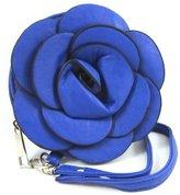 Gen SH Raised Rose Flower Wristlet Wallet