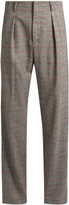 Isabel Marant Kelan Prince of Wales-checked trousers
