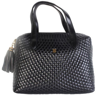 Bally Black Leather Tote Bag