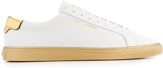 Saint Laurent Andy perforated sneakers