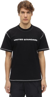 United Standard Logo Cotton Jersey T-Shirt