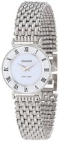 Jowissa Women's J2.003.S Roma 24 mm White Dial Roman Numeral Stainless Steel Watch
