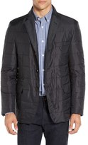 Corneliani Men's Quilted Blazer With Wool Blend Bib