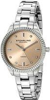 "Stuhrling Original Women's 607L.02 ""Symphony Allure"" Stainless Steel Watch with Diamonds"