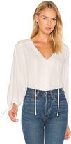 Frame Lace Up Shirt