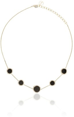 Anissa Kermiche 14kt gold Belle de Nuit necklace
