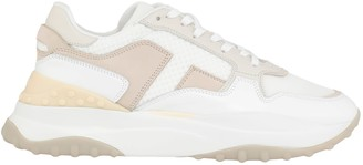 Tod's Tods Leather And Fabric Sneaker