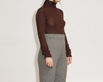 Base Range Brown Turtle Neck Cotton Gaze Puig - small