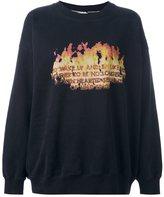 Each X Other 'Robert Montgomery' print sweatshirt - women - Cotton - M