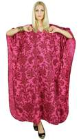 Kokom Kaftan Printed Women Dress Bohemian Long Cotton Maxi Nightwear Caftan