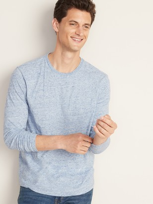 Old Navy Soft-Washed Crew-Neck Long-Sleeve Tee for Men