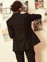 Blank Tailored Jacket-bk/gy