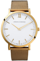 Larsson & Jennings Lugano 40mm Gold Chain Metal Watch