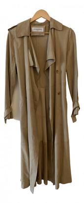 Gerard Darel Beige Suede Trench coats