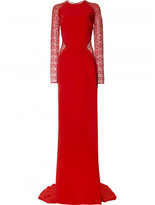 Stella McCartney Lace insert gown