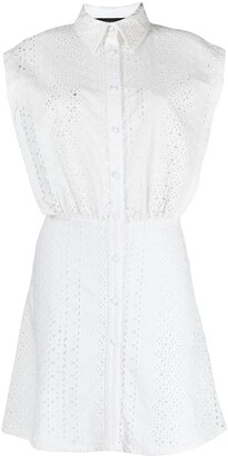 FEDERICA TOSI Broderie Anglaise Sleeveless Dress