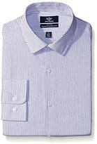 Dockers Stripe Fitted Shirt with Spread Collar