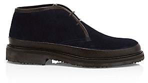 Ermenegildo Zegna Men's Trivero Suede Chukka Boots