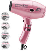Parlux 3500 Supercompact Ionic And Ceramic Hair Dryer - Pink