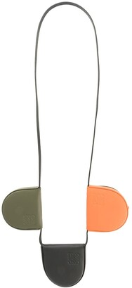 Loewe tri-pouch necklace
