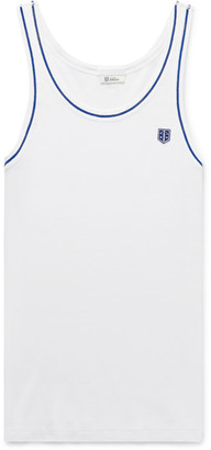 Schiesser Friedrich Ribbed Cotton Tank Top - Men