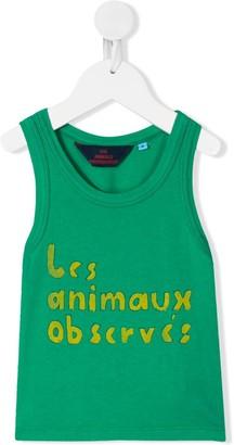 The Animals Observatory Logo Print Tank Top