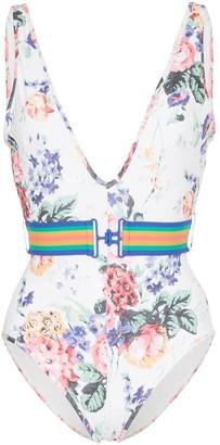 Zimmermann Allia floral print swimsuit