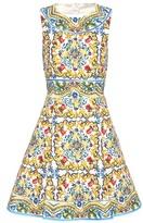 Dolce & Gabbana Printed Cotton Dress