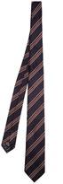 Ermenegildo Zegna Striped-jacquard silk tie