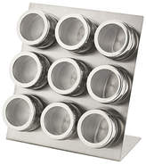 Hygena 9 Piece Magnetic Spice Canister Set