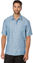 Cubavera 100% Linen Short Sleeve 2 Upper Pocket Guayabera