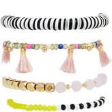 BaubleBar 30277 Quinn Bracelet Set-Black