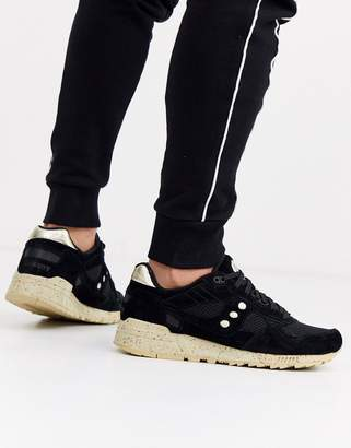 Saucony shadow 5000 trainer in black