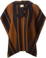 Forte Forte striped hooded jacket
