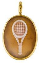 Ippolita 18K Quartz Doublet Tennis Racket Pendant