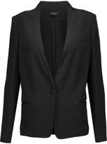 Isabel Marant Otty satin-trimmed crepe blazer