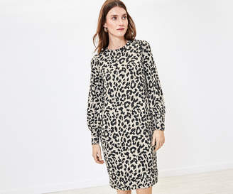 Oasis Animal Cosy Dress
