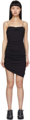 Alexander Wang Black Compact Jersey Mini Dress