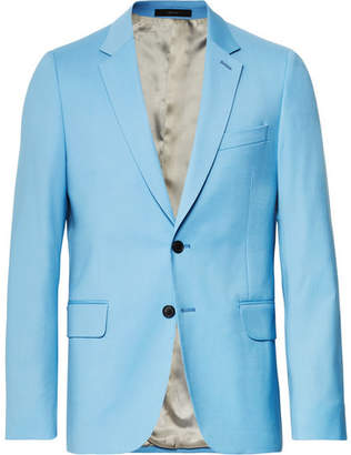 Paul Smith Light-Blue A Suit To Travel In Soho Slim-Fit Wool Suit Jacket