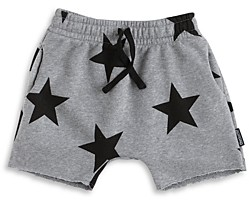 Nununu Boys' Cotton Rounded Star Sweatshorts - Little Kid