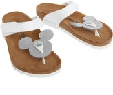 Birkenstock Infant Girls Tofino Mickey Birko-Flor Narrow Fit Sandals Magic Galaxy White