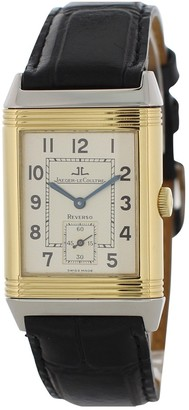 Jaeger-LeCoultre Jaeger Lecoultre Reverso Black gold and steel Watches