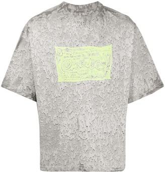 Eytys Goliath aquarela-print T-shirt