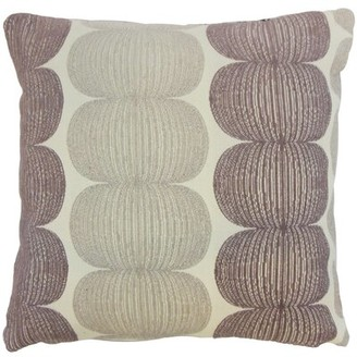 Bay Isle Home Sophronia Graphic Bedding Sham Size: Queen, Color: Marmalade