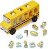 Melissa & Doug Number Matching Math Bus Toy