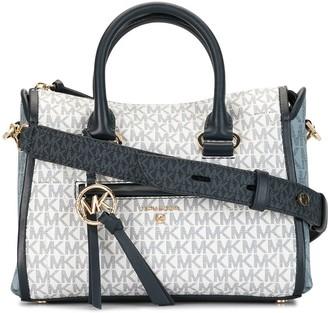 MICHAEL Michael Kors Carine logo satchel bag
