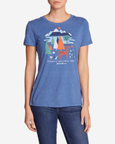 Eddie Bauer Women's Graphic T-Shirt - Yosemite Geo