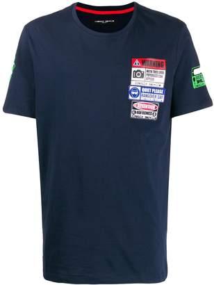 Frankie Morello multi-patch detail T-shirt